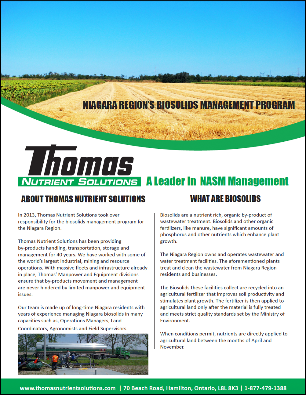 Biosolids Management