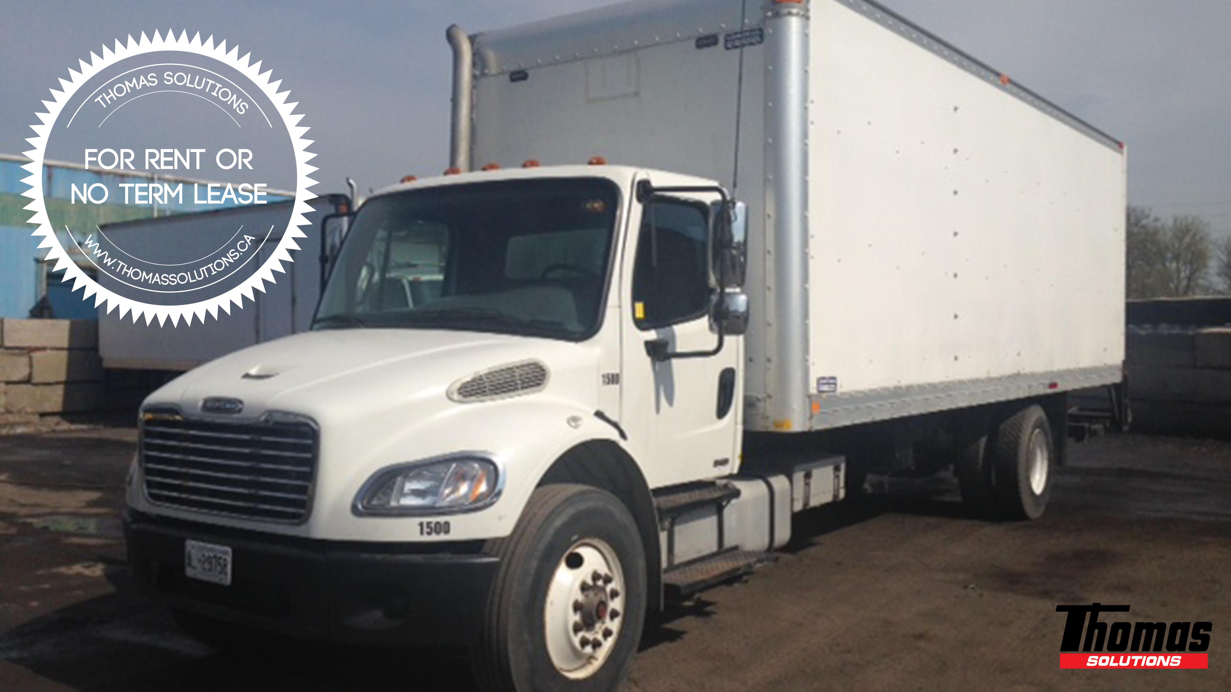 2007 M2-106 Straight Truck Freightliner