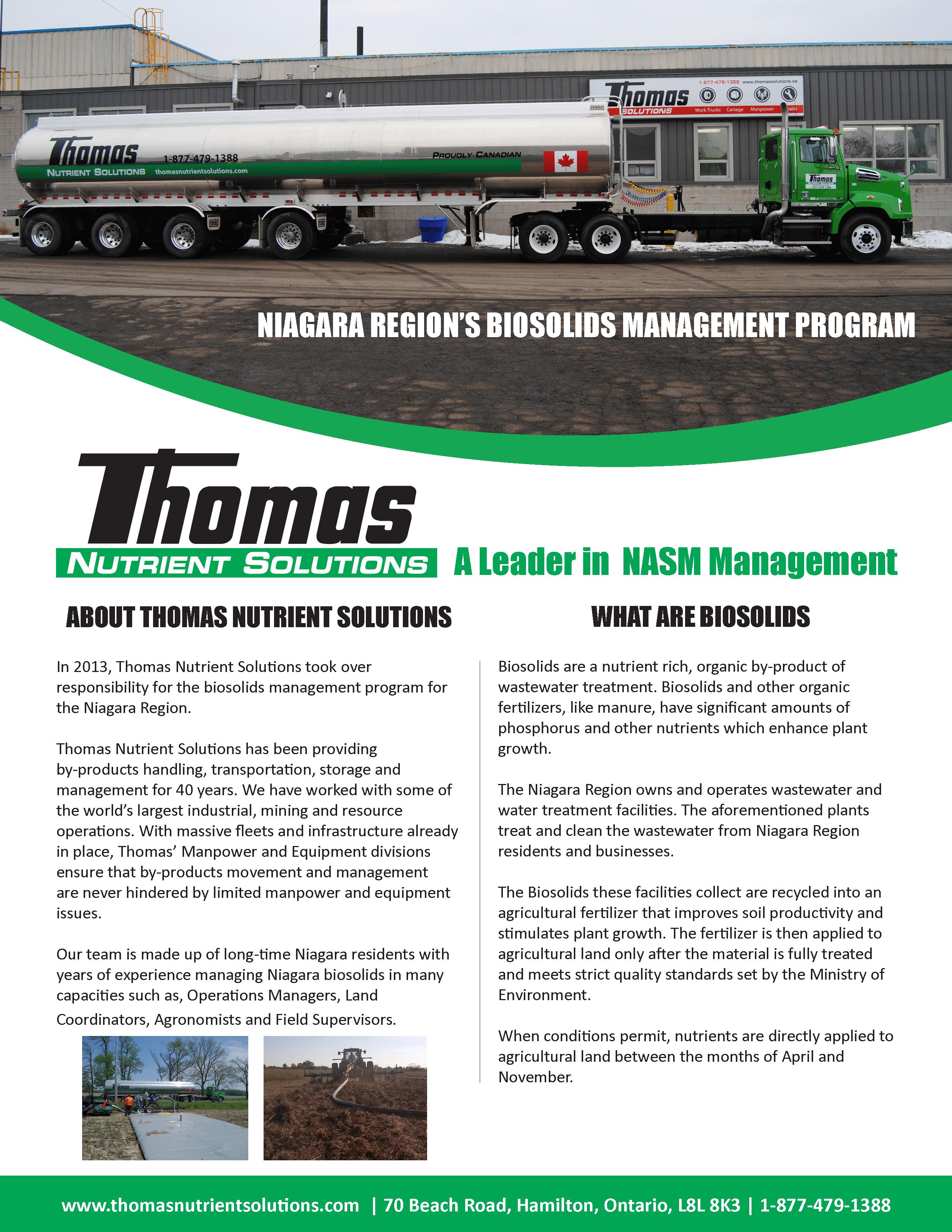 Biosolids Management